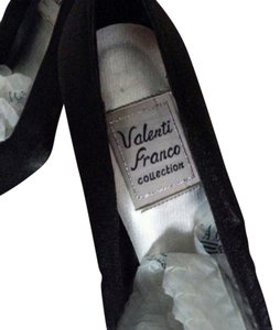 Valenti Franco Heels Heels Satin Satin Heels Pumps Evening Designer Designer Heels Satin Gown Heel Designer Christmas Gifts Black Formal
