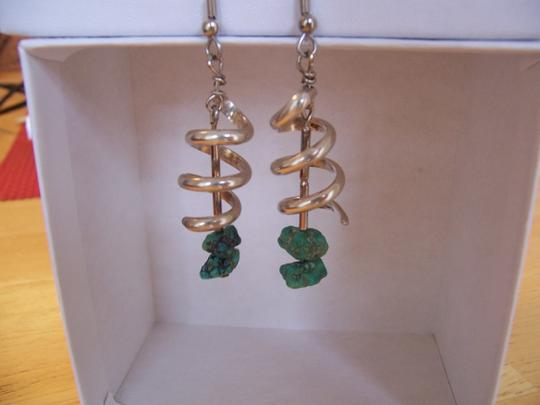 Other Sterling & Turquoise Native American Earrings