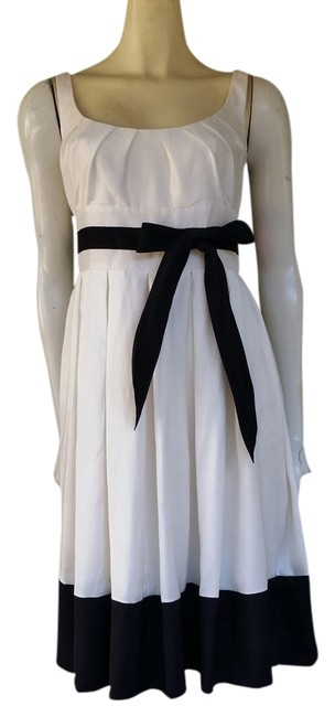 Preload https://item4.tradesy.com/images/suzi-chin-for-maggy-boutique-white-black-silk-knee-length-cocktail-dress-size-4-s-1513858-0-0.jpg?width=400&height=650