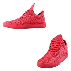 Filling Pieces Pyramid Sneakers Mens Red Athletic