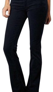 AG Adriano Goldschmied Flare Pants Navy blue