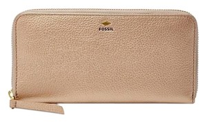 Fossil Fossil,Pewter,Metallic,Wallet,