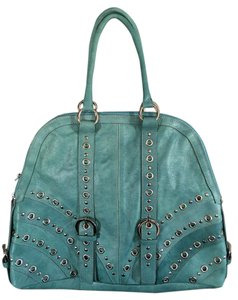 Guia's Satchel in Turquoise