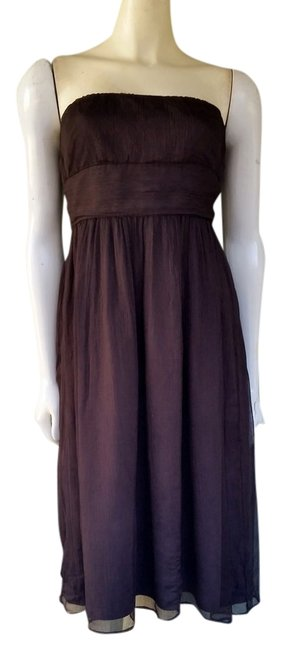 Preload https://item3.tradesy.com/images/jcrew-brown-emily-strapless-crinkled-silk-chiffon-knee-length-cocktail-dress-size-4-s-1513952-0-0.jpg?width=400&height=650