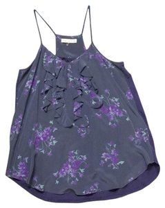 Rebecca Taylor Top Blue, Purple, Grey