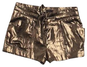 BCBGMAXAZRIA Dress Shorts Gold