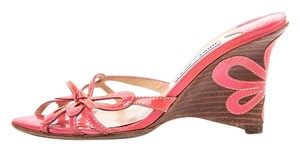 Jimmy Choo Pink Wedges