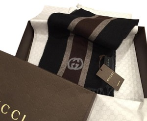 Gucci Scarf New With Tags and box