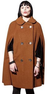 Boos Austrian Style Vintage 50's 60's All Wool Cape