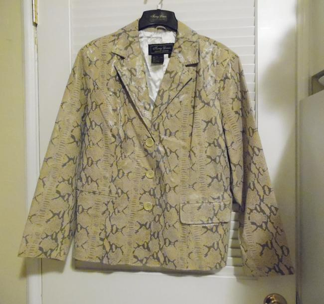 Terry Lewis Classic Luxuries Tan Leather Jacket