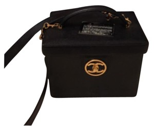 Chanel Black W gold hardwar Travel Bag