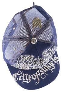 Christian Audigier * Christian Audigier City of Angels Navy/Gold hat