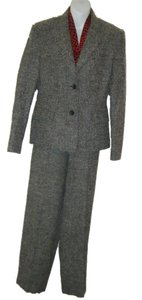 Talbots PANTSUIT 10 JACKET 14P SLACKS LINED TWEED CAREER TALBOTS NWT WOOL BLEND $259