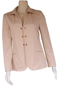 Worth Toggles Chain Beige Blazer