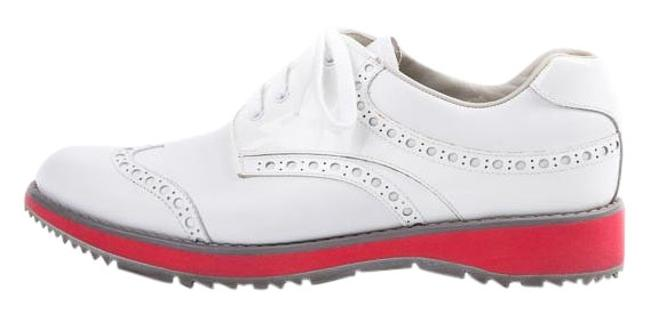 Item - White Oxford Sneakers Size US 8