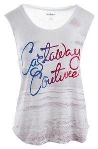 Juicy Couture Beach Tank T Shirt white