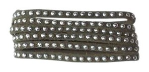 Other Suede Studded Cuff