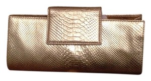 Zina Eva Gold Clutch