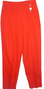 Hawksley & Wight Wool Work 6 Petite Trouser Pants red