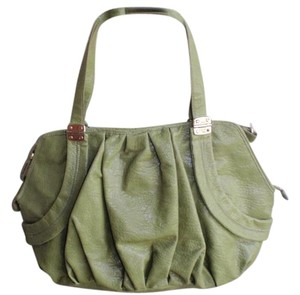 Jessica Simpson Shopping Weekends Beach Tote in avocado green