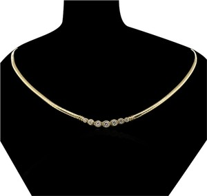 Flash **SALE** Brand New 1.10ct Diamond and Gold Necklace