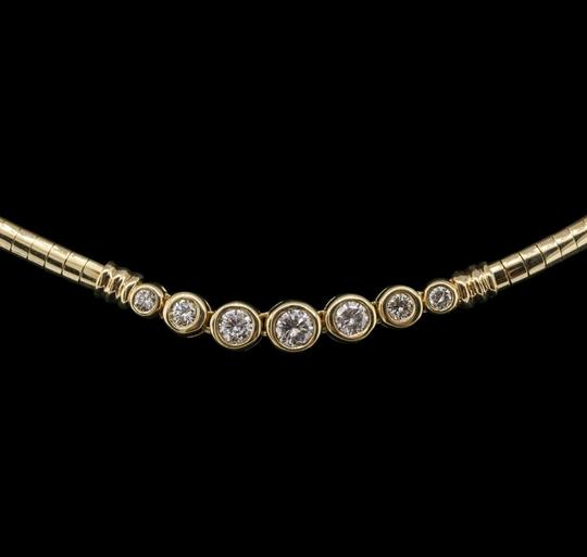 Other Flash **SALE** Brand New 1.10ct Diamond and Gold Necklace