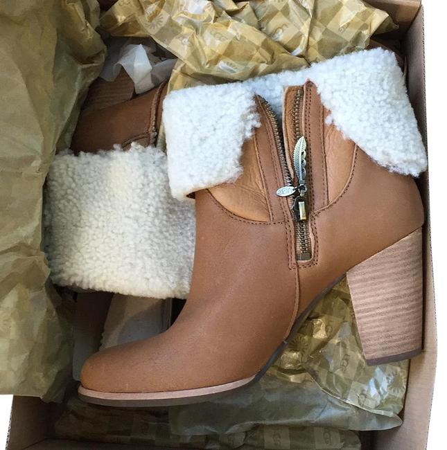 Item - Tan Leather Charlee Boots/Booties Size US 8.5 Regular (M, B)