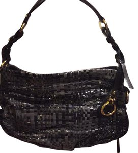 Francesco Biasia Satchel in Black/gray