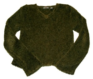 Jamie Scott Forest Green Fuzzy Sweater