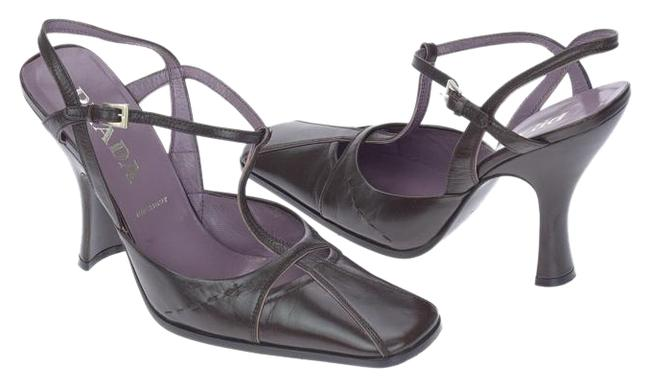 Item - Purple Strappy Close Sandals Size US 10