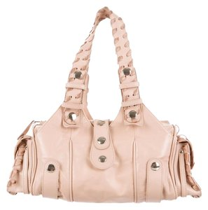 Chlo Satchel in pink