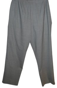 Talbots Stretch Wool Wool Business Trouser Pants grey