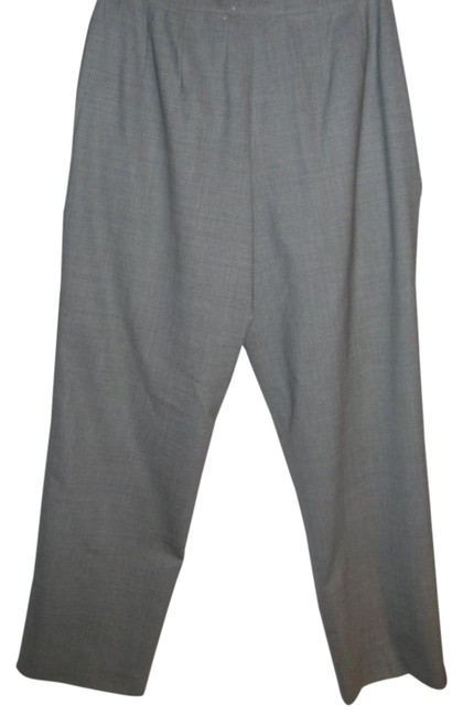 Item - Grey Basic Work For Office Career Or Anytime Pants Size Petite 4 (S)