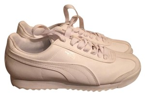Puma White Athletic