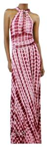 Cranberry Tye Dye Maxi Dress by Other Love Stitch Maxi Summer Halter Backless