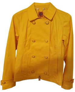 Tory Burch Trent Rain Yellow Jacket