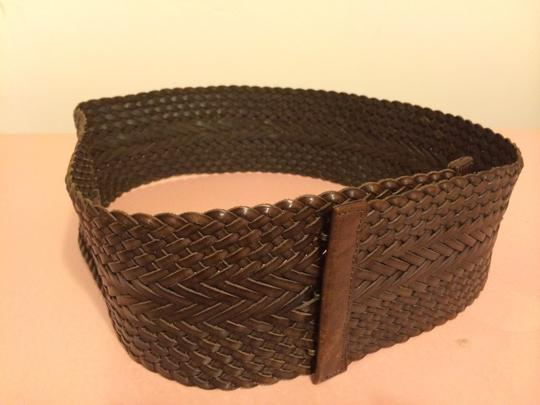 Preload https://item5.tradesy.com/images/club-monaco-brown-wide-woven-leather-by-belt-151474-0-0.jpg?width=440&height=440