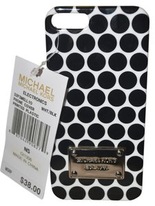 Michael Kors Michael Kors Electronics WHITE / BLACK Iphone 5 5S Case 32F3MELL10