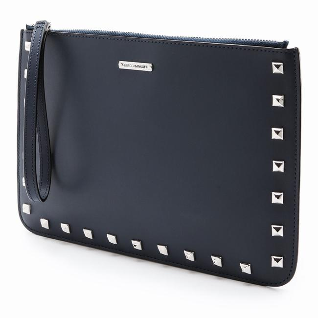 Item - Kerry Pouch Black Leather Wristlet