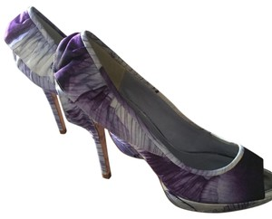 Karen Millen Purple, White Pumps