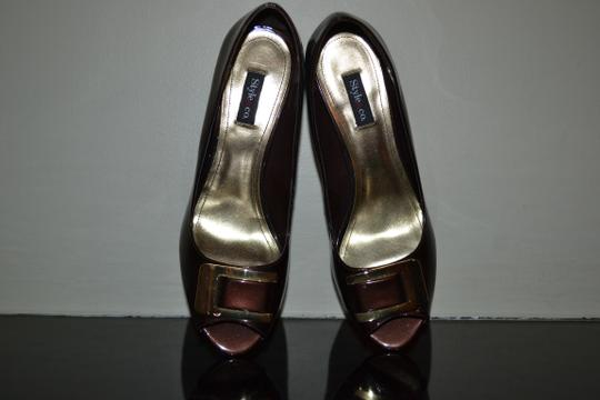 Style & Co Brown Pumps