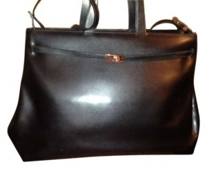 Furla In Italy Looks New Inside & Out Just Perfect A Really Extremely Versatile Tote in Black leather