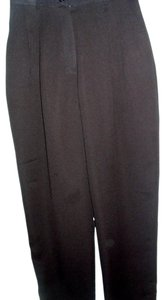 Focus 2000 Textured Basic Vintage Classic Traditional Trouser Pants brown