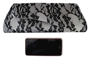 Gunne Sax Black Lace Clutch