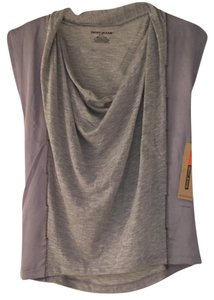 DKNY Top Grey and silver