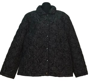 Croft & Barrow Black / Gray Jacket