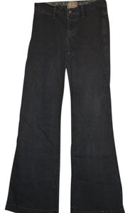 Rich & Skinny And Denim Size 4 Flare Leg Jeans-Dark Rinse
