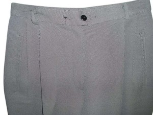 Liz Claiborne Graphic Dots & White Trouser Pants black
