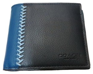 Coach COACH MEN'S COMPACT ID WALLET (gift box is included)