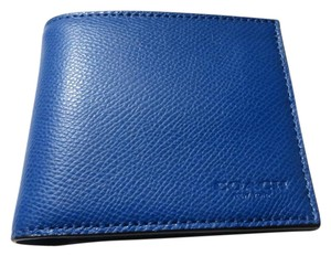 Coach Coach men's COMPACT ID Wallet (boxed) (ship via priority mail)